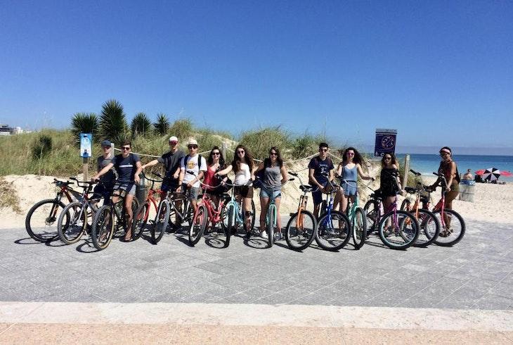 South Florida Trikke Beath Miami Bike Tour