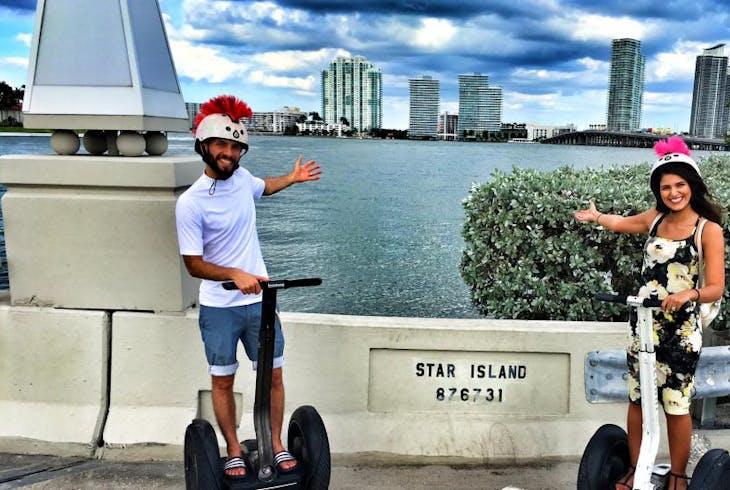 South Florida Trikke Star Island Segway Tour