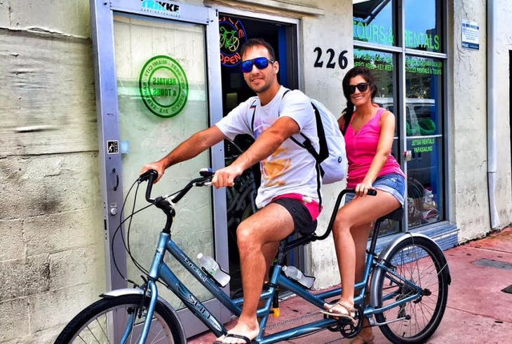 South Florida Trikke Tandem Bicycle Rental
