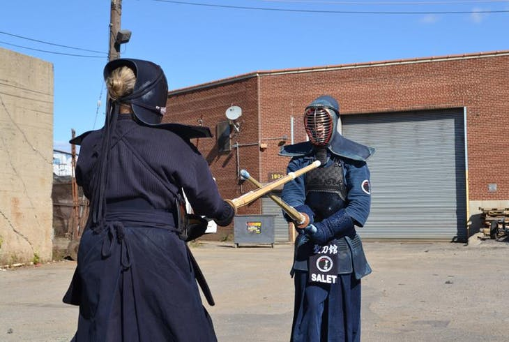 Beginner Kendo Sword Fighting