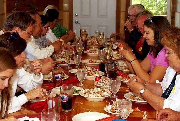 Taquan Air Exclusive Flightseeing Crab Feast