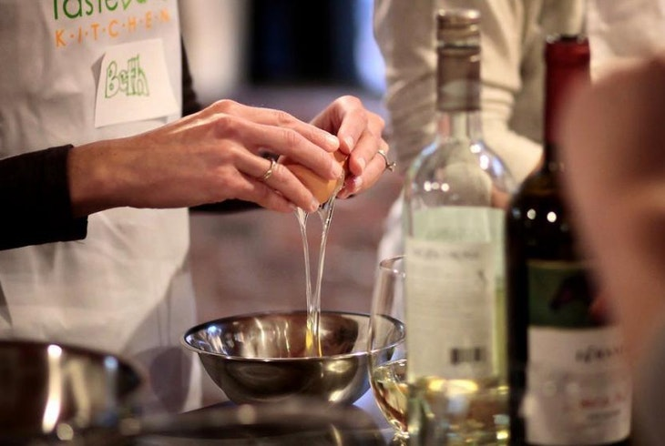 Taste Buds Cooking With Wine