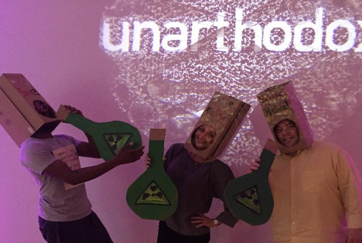Unarthodox Virtual Reality