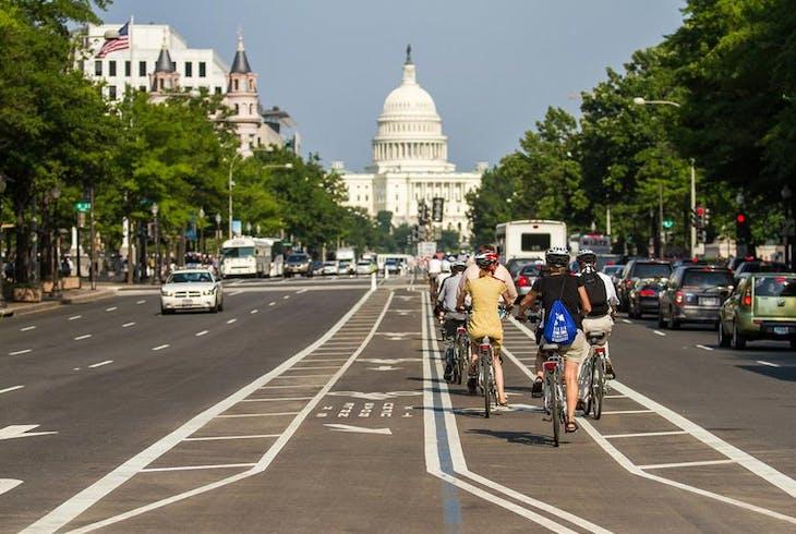 Unlimited Biking DC Capital Sites Bike Tour