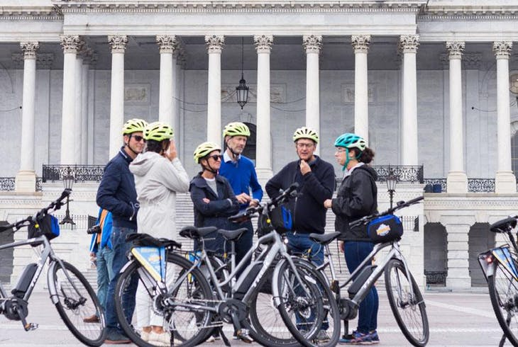 Unlimited Biking DC Monumental Electric Bike Tour
