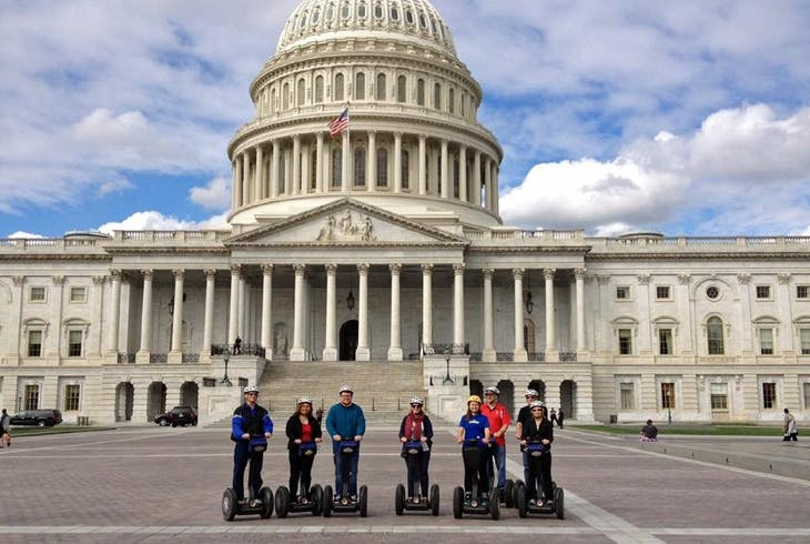 Unlimited Biking DC Sites By Segway Tour
