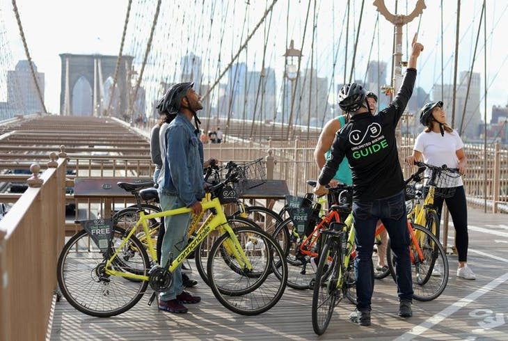 Unlimited Biking NY Brooklyn Waterfront Bike Tour