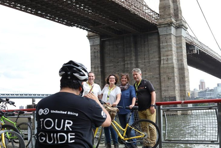 Unlimited Biking NY Brooklyn Waterfront Bike Tour