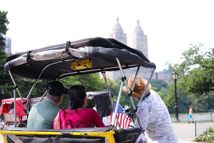 Unlimited Biking NY Central Park Pedicab Tour