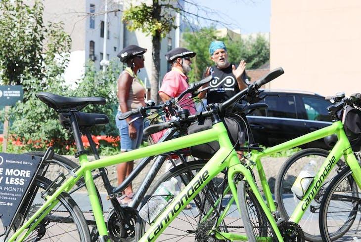 Unlimited Biking NY NYC Secret Streets Bike Tour