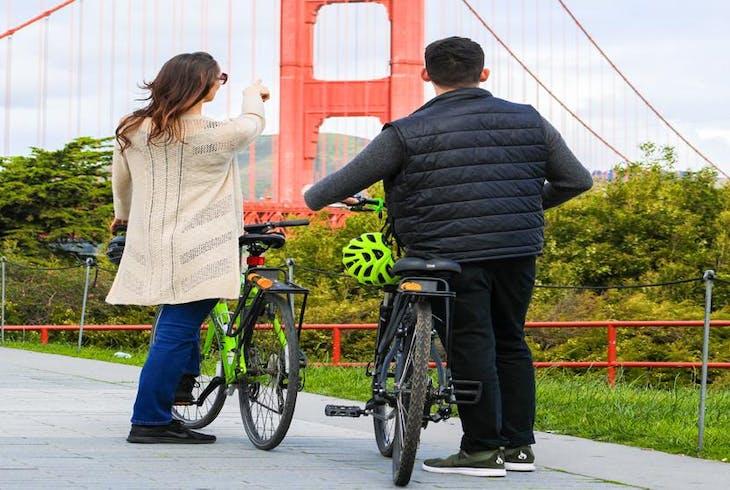 Unlimited Biking SF Golden Gate Bridge Bike Tour
