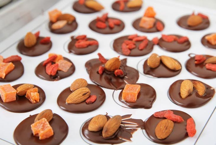 Voila Chocolat Make Your Own Chocolates Experience Mendiants