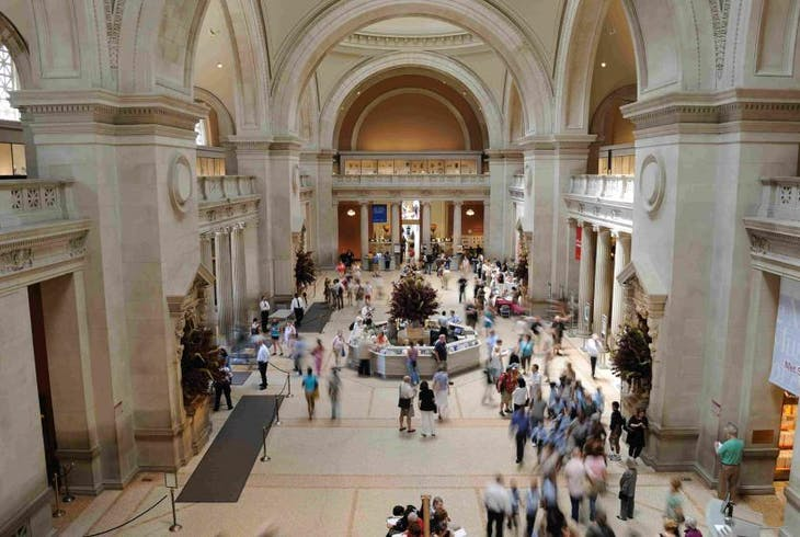 Walks Of New York Metropolitan Museum