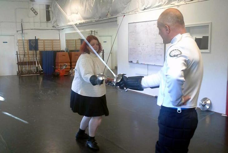 Academia Duellatoria Sabre Fighting