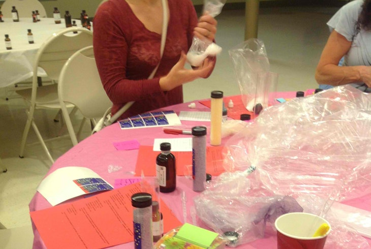 Bath Salts Making Class
