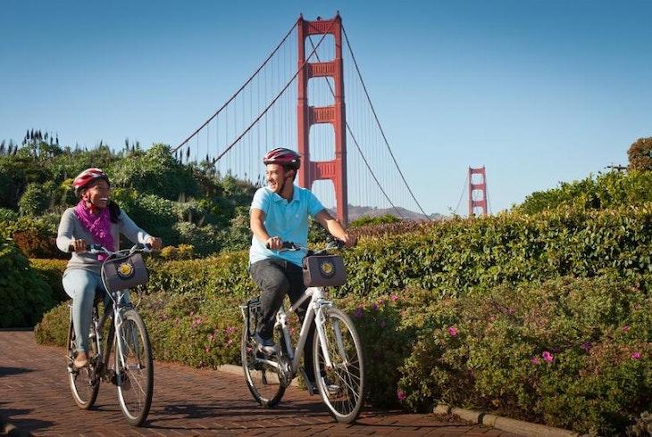 Bay City Bike Golden Gate Bridge To Sausalito