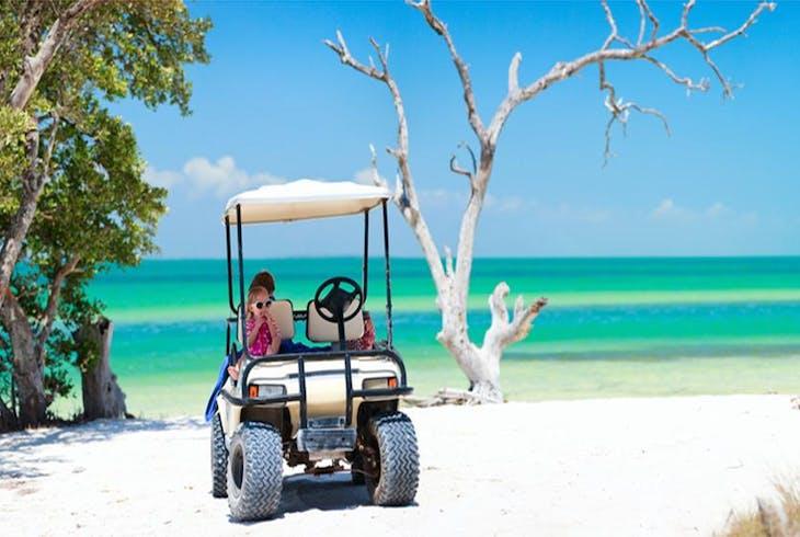 Beach Golf Cart