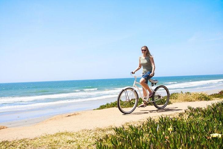 Alki Beach Food Tour Bicycle