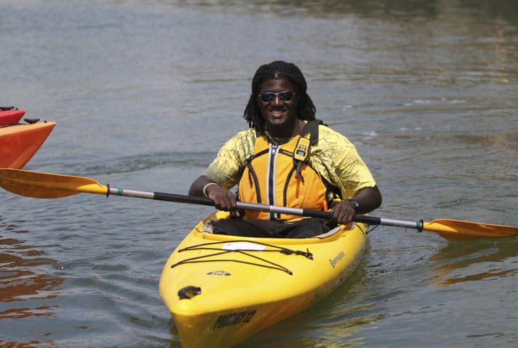 Boating In Boston Kayak