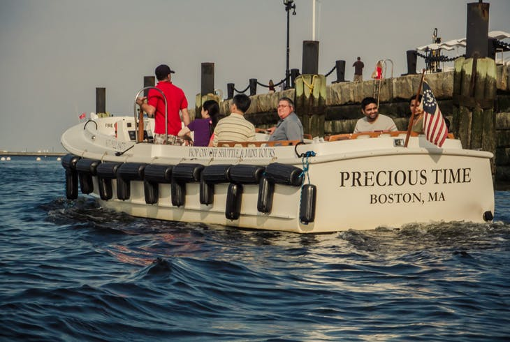 Boston Harbor Mini Tours Spectacle Island
