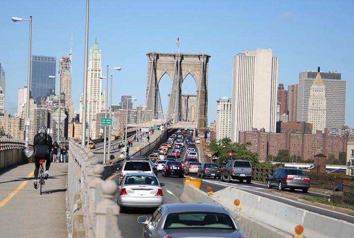 Brooklyn Bridge Bike Path