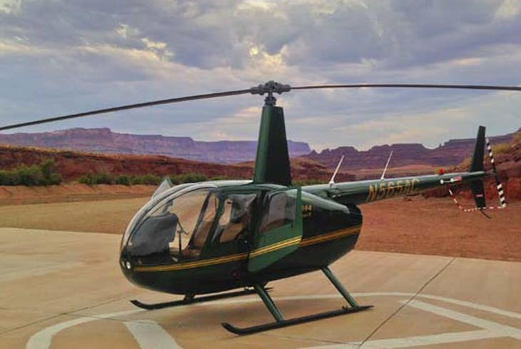 Canyonlands By Day And Night Helicopter