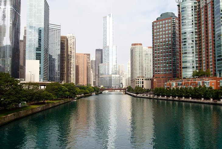 Chicago Architecture River Generic