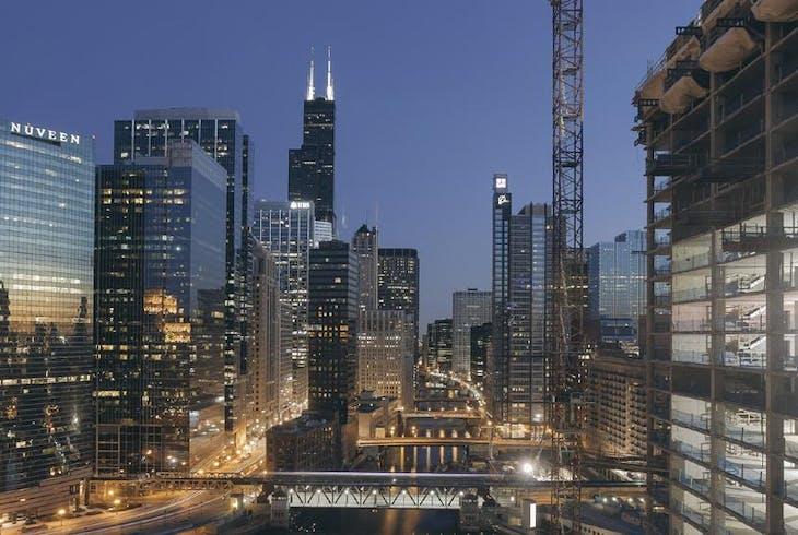 Chicago Night Lights Generic