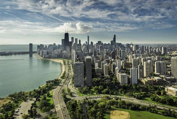 Chicago Skyline Daytime