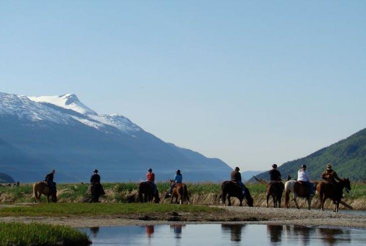 Chilkoot Horseback Riding