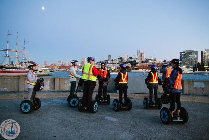 City Segway Tours Sf Night