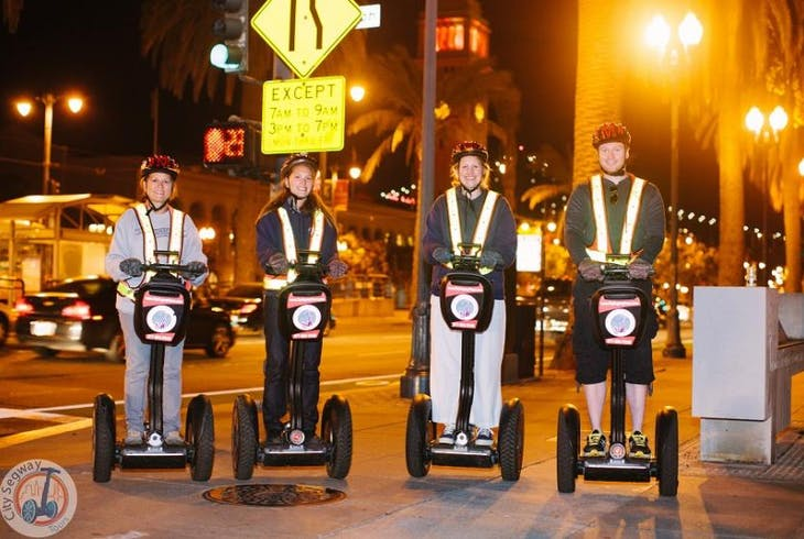 City Segway Tours Sf Night