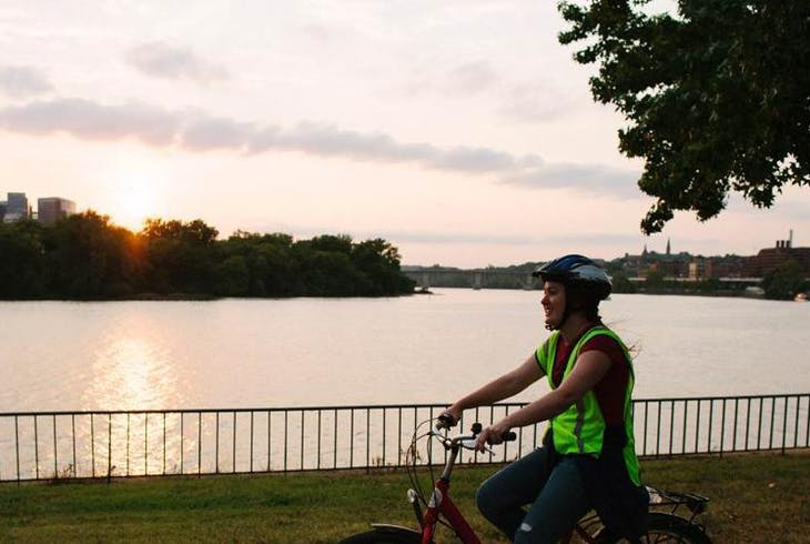 City Segway Tours Washington Sunset Electric Bike