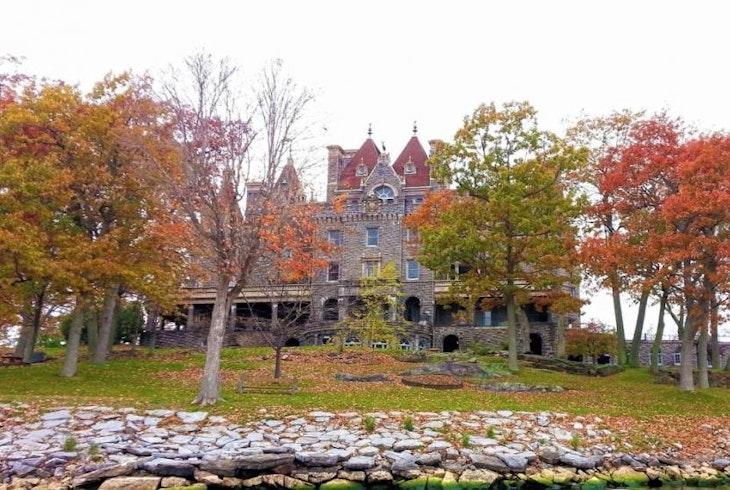 Clayton Island Tour Castle