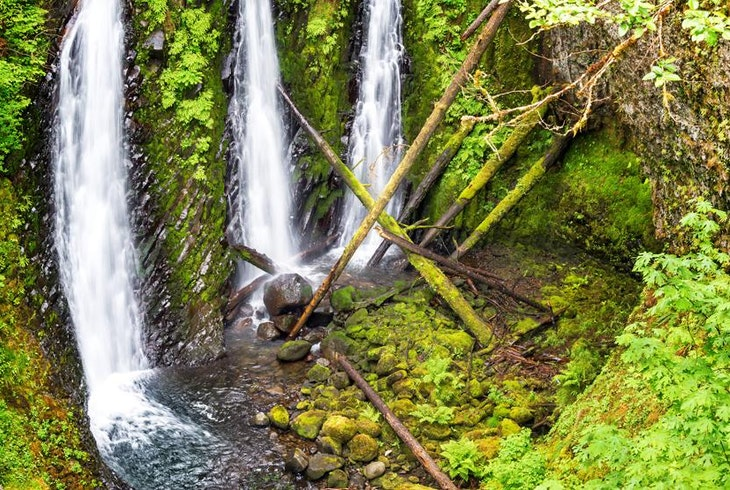 Columbia Gorge Waterfall Portland