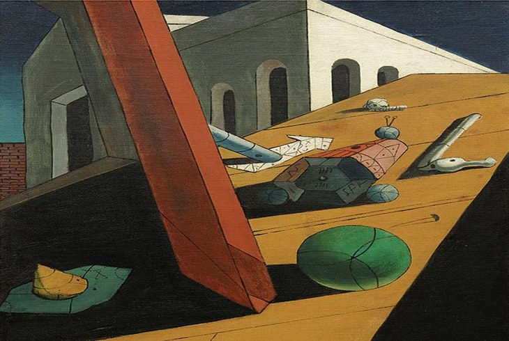 Context Travel Giorgio De Chirico