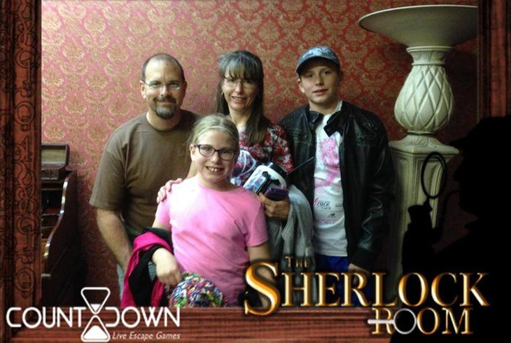 Countdown Live Escape Games Sherlock
