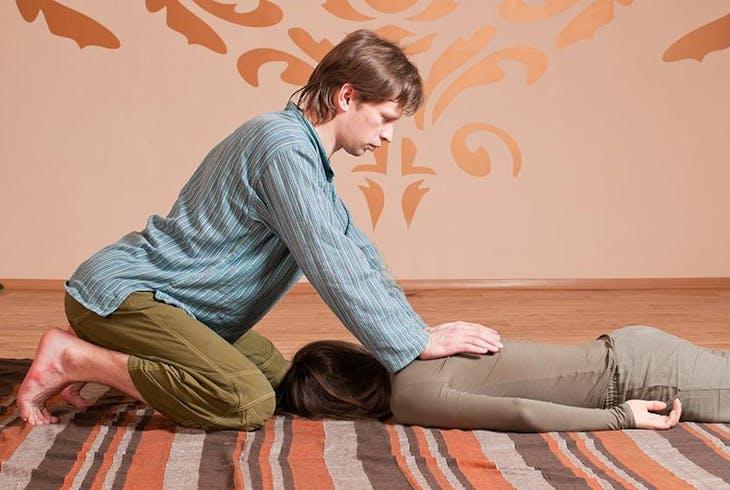 Massage Class Lower Body - Discovery Center  Stress -7762