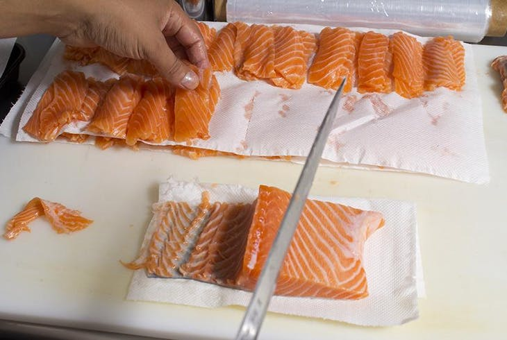 Cutting Fish