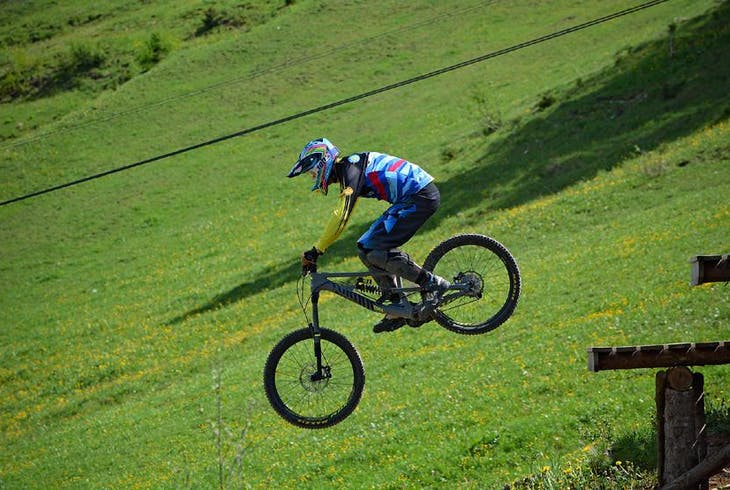 Downhill Biking