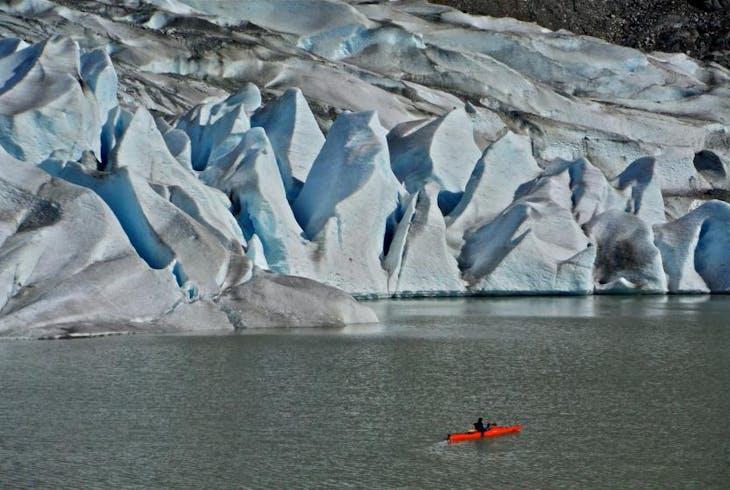Glacier Lake Paddle