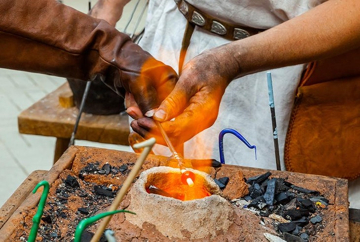 Glass Bead Making