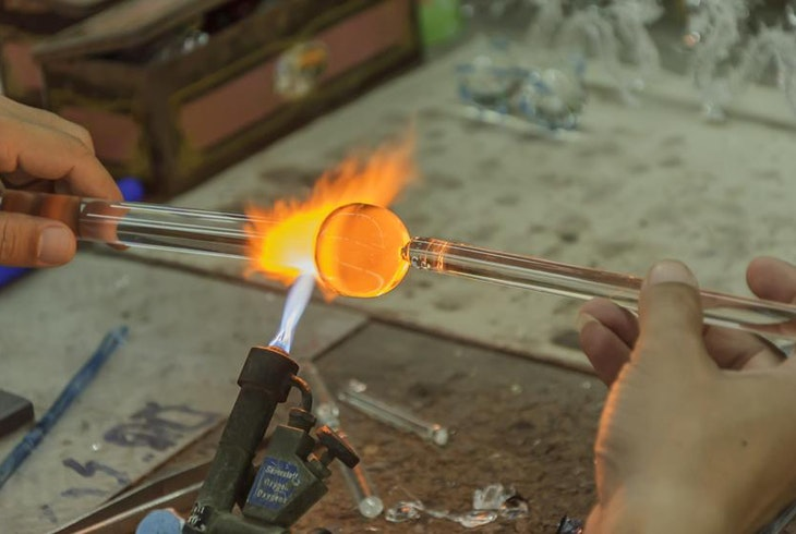 Glass Sculpting