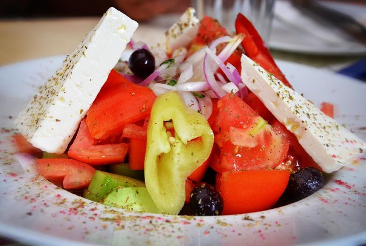 Greek Cooking Mezes Salads