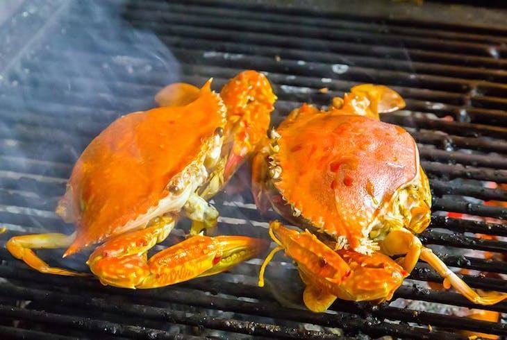 Grilling Sea Food