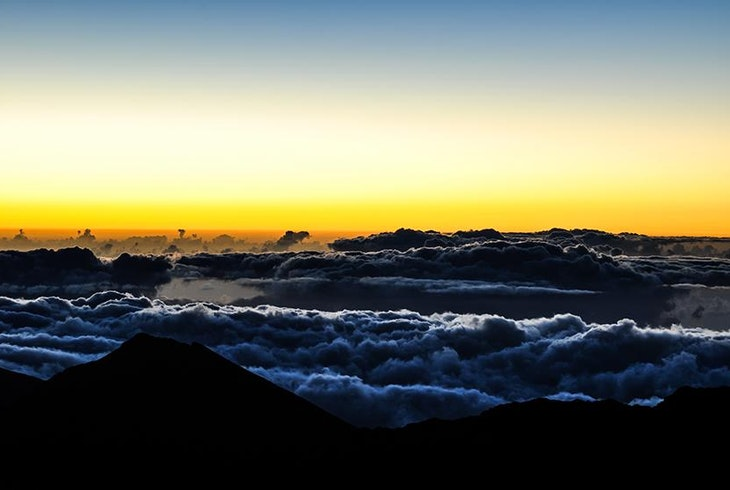 Haleakala Crater Sunrise