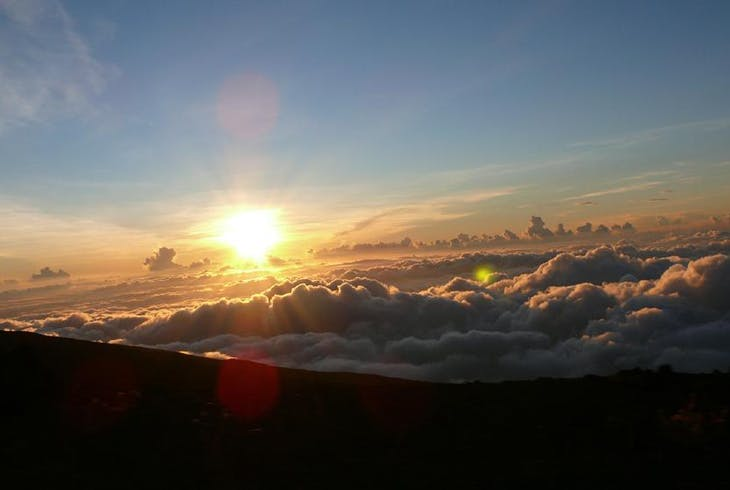 Haleakala Crater Sunset