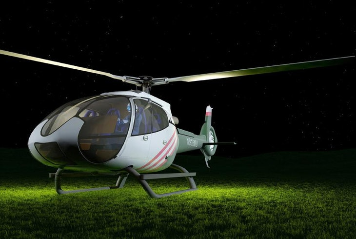 Helicopter Night Tour