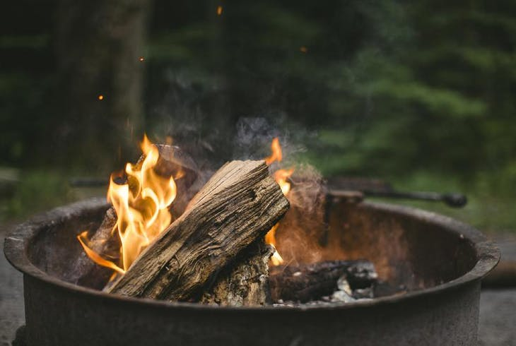 Hike Fire Building
