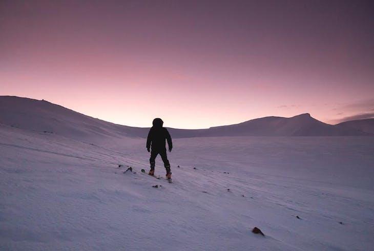 Hiking Winter